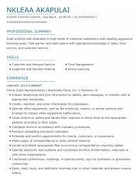Telephone Sales Representative Resume Samples Best Telephone Sales Representative Resumes Resumehelp