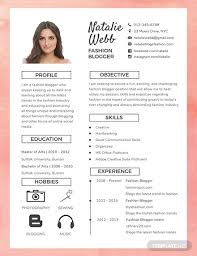 Pr Cv Template 88 Free One Page Resume Templates Download Ready Made Template Net