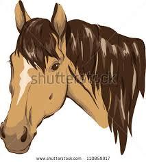 horse head clip art color. Perfect Color Brown Horse Head Building Painting Brown Horse Horse Head Riding  Image In Head Clip Art Color A