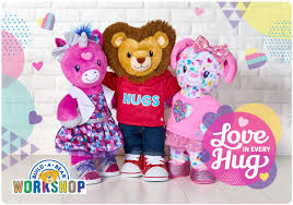 Plush Gifts Gift Cards Build A Bear