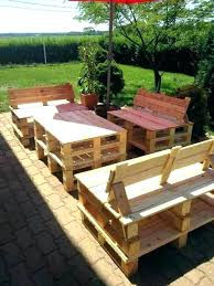 pallets made into furniture. Bench Made Out Of Pallets Patio Furniture Garden . Into