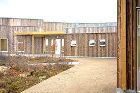 Kautokeino Home Care Center, retirement home, prefab, prefab building,  Kebony, Q