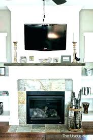 fireplace mantel with tv above wall custom unit designs decorating ideas n30 decorating