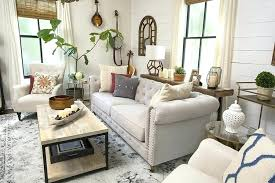 farmhouse chic furniture. Chic Living Room Furniture Farmhouse Modern Home Decor Style Swap Sofa 5 R