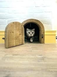 cat door installation for wall interior wellington glass christchurch perth cat door installation