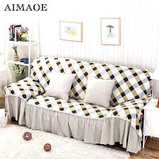 3 piece sofa covers cotton polyester modern plaid lace l shaped cover corner slipcover stretch seater 3 piece sofa slipcover