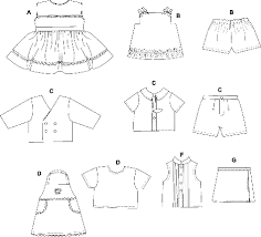 Clothing Sewing Patterns Impressive Butterick 48 Doll Clothes