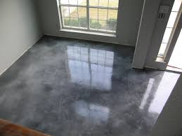 Diy Painted Concrete Floors Acid Stained Overlay I Am Thinking Of Doing Something Similar In
