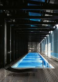Indoor Swimming Pool In Luxury Apartment