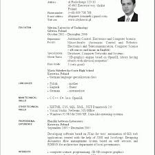 Curriculum Vitae En Word 2017 4 Care Giver Resume For Plural