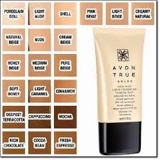 Avon Foundation Colour Chart Avon True Color Ideal Nude Foundation Liquid And 50 Similar