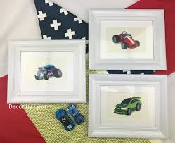 Race Car Room Decor Racing Cars Boys Room Decor Race Car Collection
