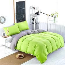 full image for hunter green duvet cover queen solid lime green duvet cover solid light green