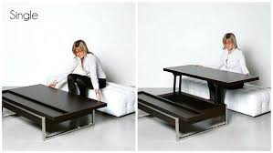 coffee table converts to desk sui convertible coffee table desk uk .
