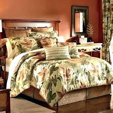 palm tree bedspread bed set comforter sets queen quilt king twin size pattern sheets bedding linen