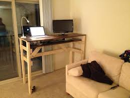diy standing desk is the best diy sit stand workstation cheap t90