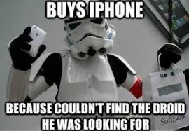 Phone Wars - Fantastically Funny iPhone Memes | Gizmopod via Relatably.com