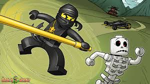 Small Picture Lego Ninjago Skeleton Army Coloring PagesNinjagoPrintable