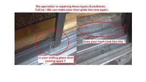 fix glass sliding door saudireiki