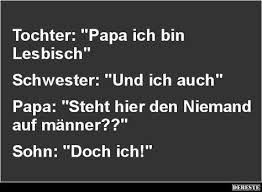 Tochter Papa Ich Bin Lesbisch Lustige Bilder Sprüche Witze