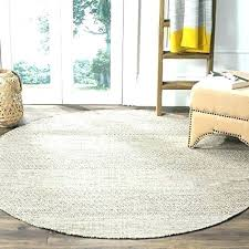 gray round area rug grey round area rugs collection handmade ivory and steel cotton rug 6