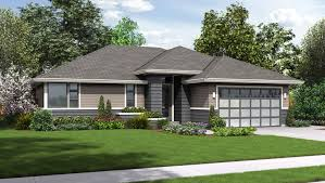 image of ranch style house design
