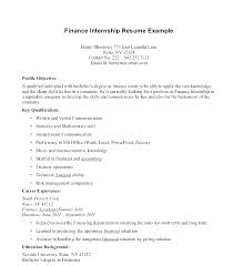 Undergraduate Student Resume Classy Example Internship Resume Internship Resume Without Experience Cover