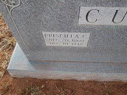 Priscilla Spencer Curb (1860-1948) - Find A Grave Memorial
