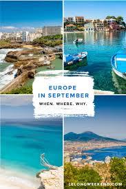 september in europe