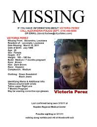 Missing Persons Posters So Sad Missing Persons Of America Victoria Perez Missing Pregnant 23