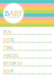 Baby Shower Invitations Template 25 Adorable Free Printable Baby Shower Invitations