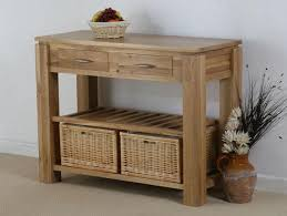 sofa table with storage baskets. Wooden Console Table Design With Two Charming Wicker Storage Baskets - Home Gallery Sofa T