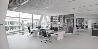black and white office design. black and white interior at adidas office in herzogenaurach germany design