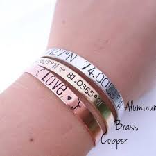 i am the storm hand sted cuff bracelet your choice of gold silver rose gold empowering jewelry