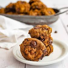 ernut squash chocolate chip protein cookie recipe gluten free vegan bites of wellness
