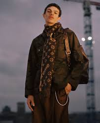 louis vuitton jacket mens. a look from the louis vuitton and supreme collaboration. jacket mens