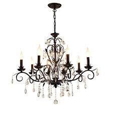 Us 1445 15 Offrustikale Beleuchtung Retro Kronleuchter Anhänger Schwarz Eisen Kerze Kronleuchter Wohnzimmer Küche Kronleuchter Beleuchtung Lampe