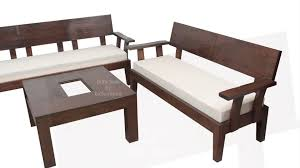 Wooden Furniture Living Room Designs Stylish Looking Wooden Sofa Set For Your Living Room Made To