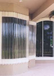 lookout corrugated polycarbonate lexan sheet storm panels hurricane panels