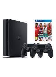 Sony Sony PS4 Slim 500 GB Oyun Konsolu + 2. PS4 Kol + PS4 PES 2021 -  29330029