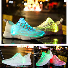 Led Light Shoes Near Me Details About Fiber Optic Glowing Shoes Leisure Light Shoes Flashing Shoes Led Light Shoes If