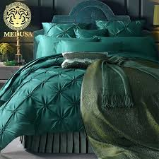 turquoise duvet covers queen medusa washed silk pleated fisher net bedding set king queen size duvet