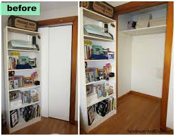 turn closet into office. Fascinating How To Turn Your Closet Into An Office   Stephanie Marchetti Image A
