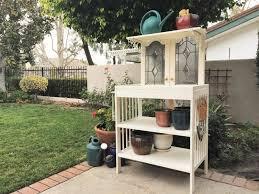 how to repurpose furniture. Repurposed Changing Table To Potting Bench How Repurpose Furniture