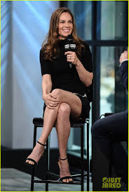Hillary Swank Hilary Swank Is All About The Female Empowerment Mission Photo
