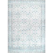 nuloom vintage lindy aqua 7 ft x 9 ft area rug