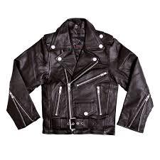 kid s leather jacket