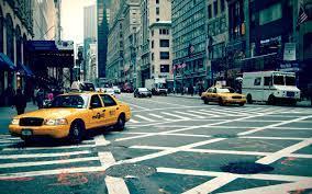 New York Taxi Buildings HD wallpaper ...