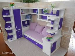 how to make mini furniture. how to make miniature bed sitting area for dollhouse guest room mini furniture r