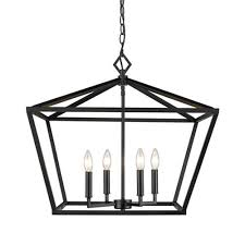 millennium lighting 3294 mb corona matte black four light lantern pendant